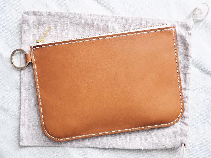 【好好縫】拉鏈手提包|皮革D.I.Y材料包