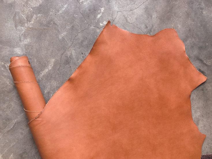 意大利植鞣牛皮腩條 - 啡橙 TAN|1.0mm