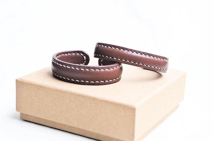 【好好縫】皮革手鈪(一對裝)|皮革D.I.Y材料包