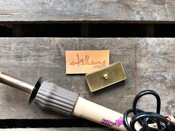 加購熱烙專用黃銅模具
