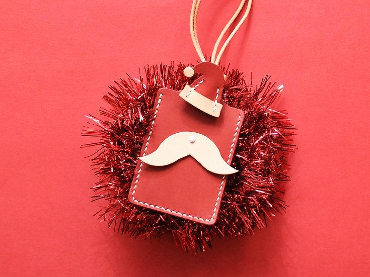 【好好縫】聖誕老人卡片套|皮革D.I.Y材料包
