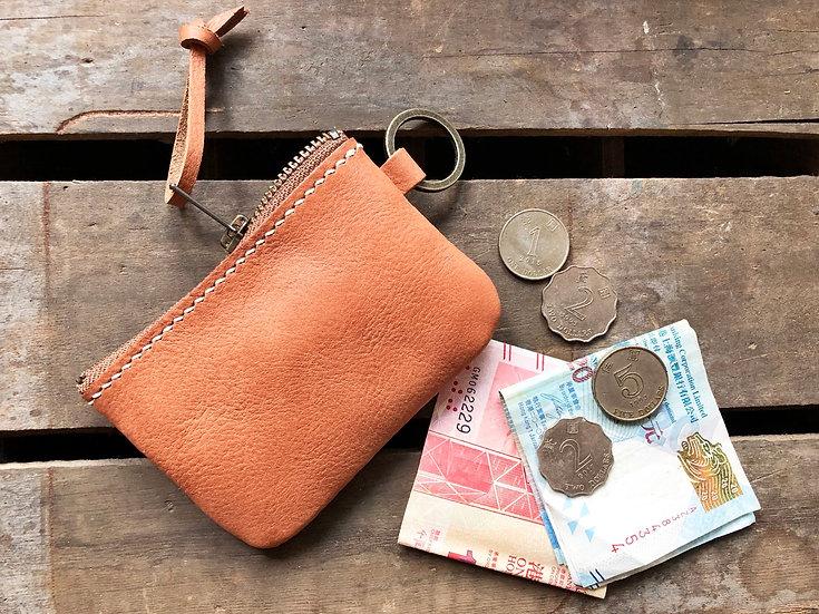 【好好縫】軟身拉鏈散紙包|皮革D.I.Y材料包