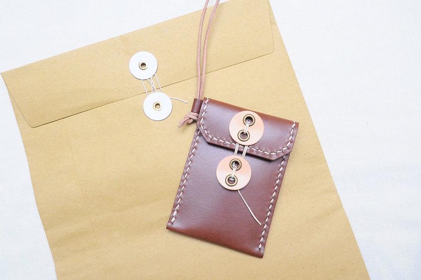 【好好縫】公文袋型證件套|皮革D.I.Y材料包