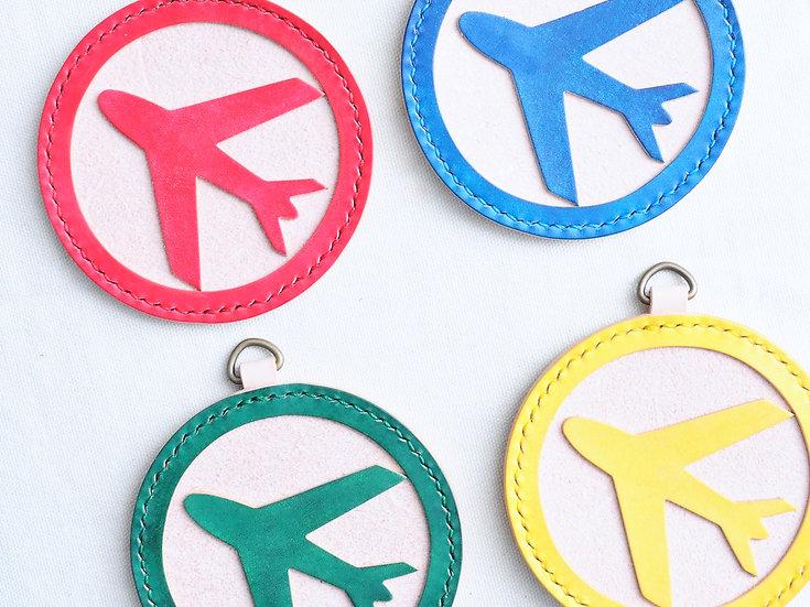 【好好縫】飛行棋行李牌|皮革D.I.Y材料包
