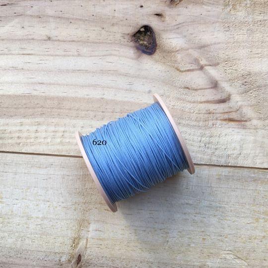 0.65mm 圓蠟線 No.620 天空藍