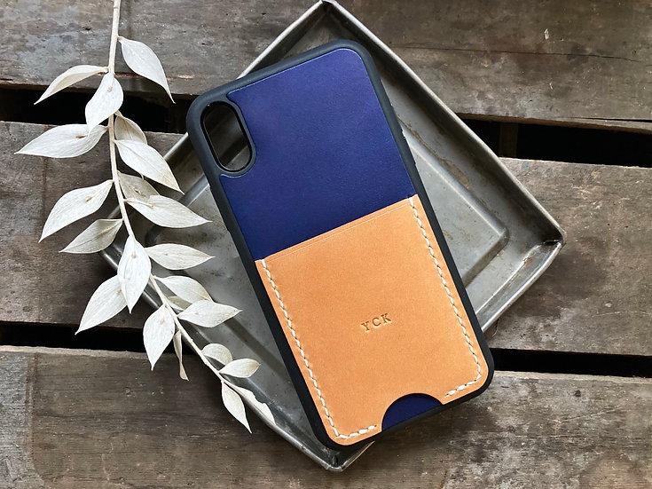 【好好縫】直身咭位 iPhone電話殼 |皮革D.I.Y材料包