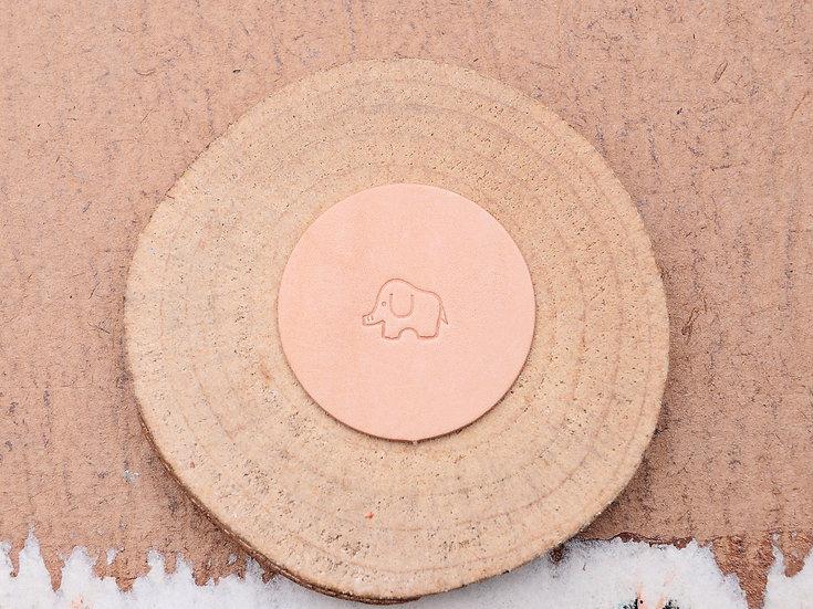 Craft Japan 皮革印花工具 E585 小象