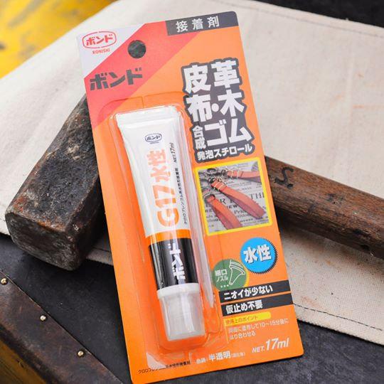 日本 KONISHI G17 水性萬能膠(適用於黏合相位膠片)