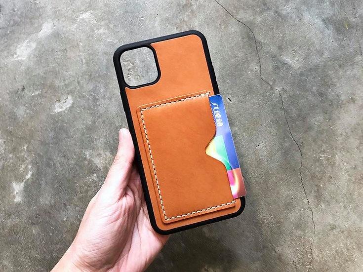 【好好縫】iPhone 11系列 皮革電話殼 (咭位)|皮革D.I.Y材料包