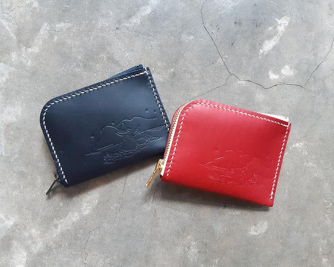 MOOMIN x 港產皮革 拉鍊銀包