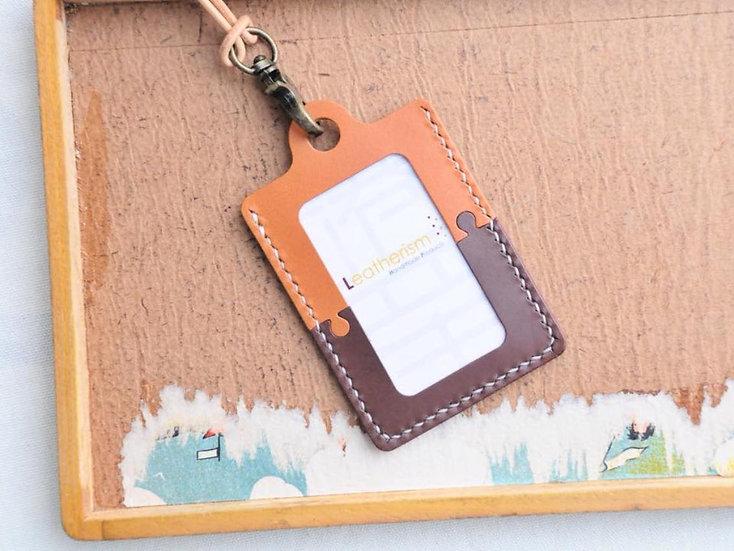 【好好縫】直身砌圖造形證件套|皮革D.I.Y材料包