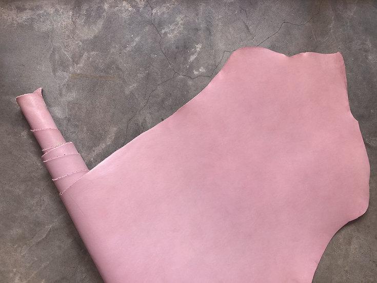 意大利植鞣牛皮腩條 - 粉紫紅 LOTUS|1.0mm