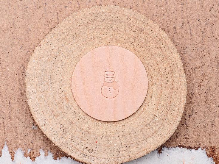 Craft Japan 皮革印花工具 E592 雪人