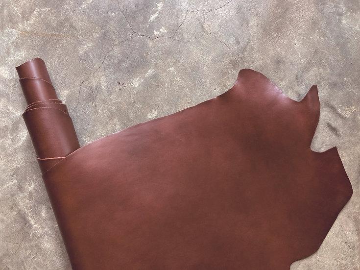 意大利植鞣牛皮腩條 - 深啡 RUSSEL|1.0mm