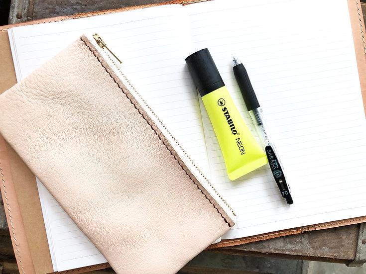 【好好縫】拉鍊筆袋|皮革D.I.Y材料包