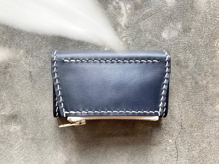 【好好縫】三摺鎖匙包+拉鏈散紙包|皮革D.I.Y材料包