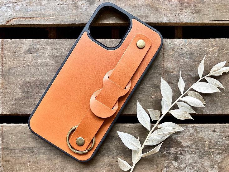 【好好縫】伸縮手提iPhone皮革電話殼 皮革D.I.Y材料包