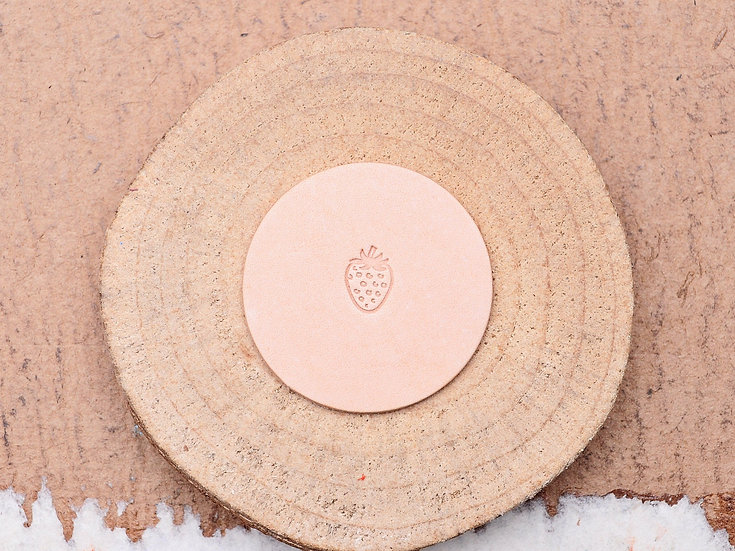 Craft Japan 皮革印花工具 E566 草莓