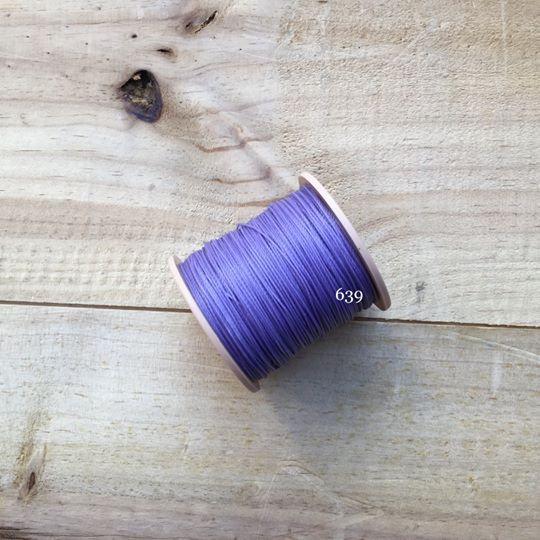 0.65mm 圓蠟線 No.639 香芋紫
