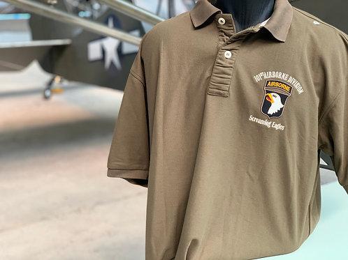 polo Kaki 101ème Airborne