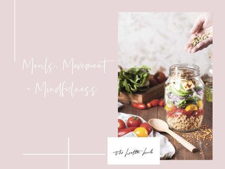 MEAL PLANNER - A KEY TO SUCCESS