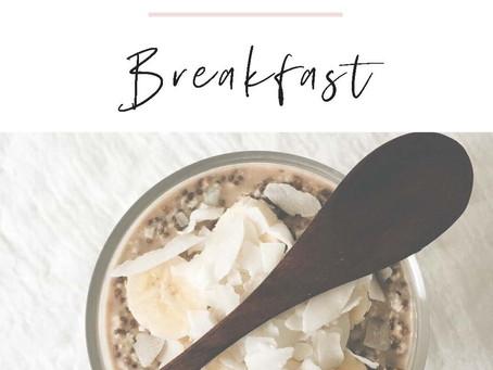 Meal Prep Program - BREAKFAST