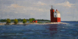 Arrival at Mackinac-SOLD