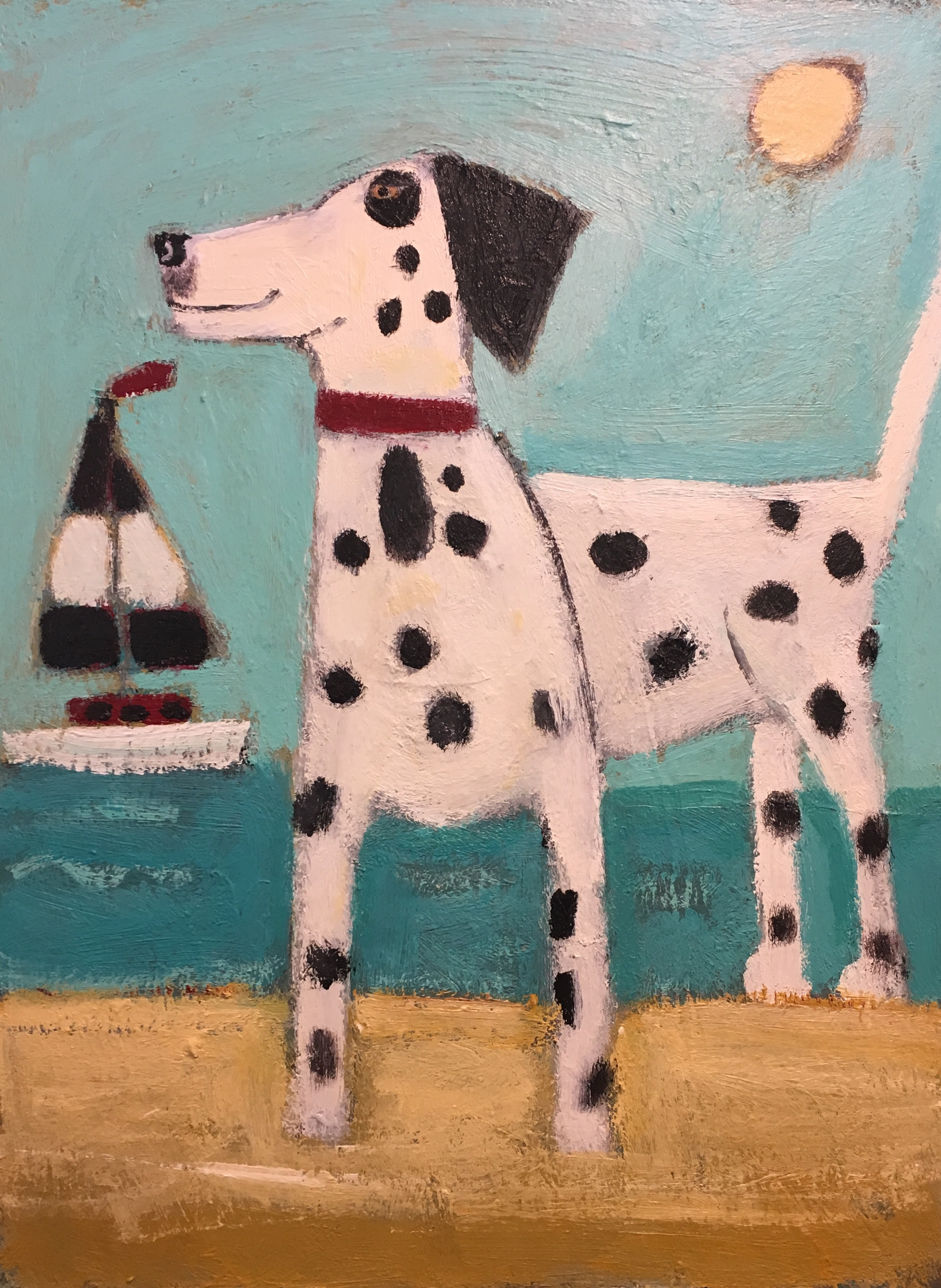 Dalmatian's Day Off-SOLD
