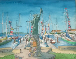 Lady Liberty Welcoming All