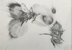 """""""Two Bees""""- SOLD"""