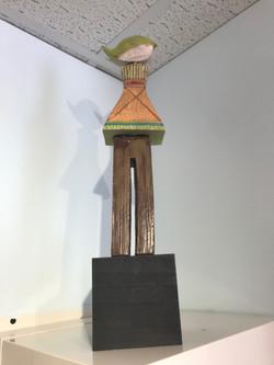 Dancing Figure - Lime Flip