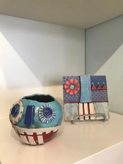 Pinch Pots & Face Time Tiles