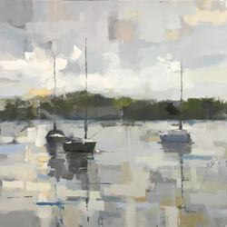 Three Boats-SOLD