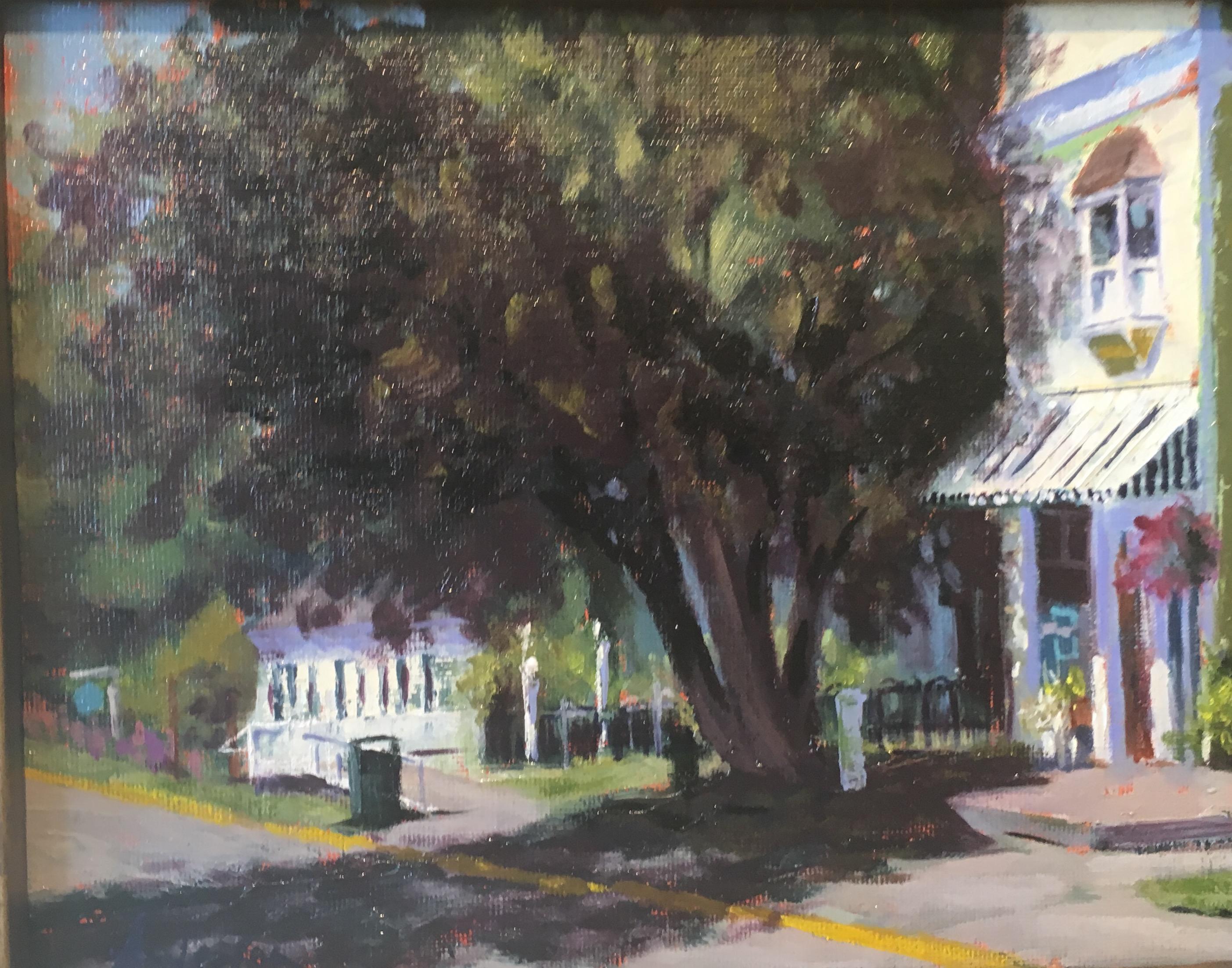 "Oil- ""Mackinac's Little Gallery"""