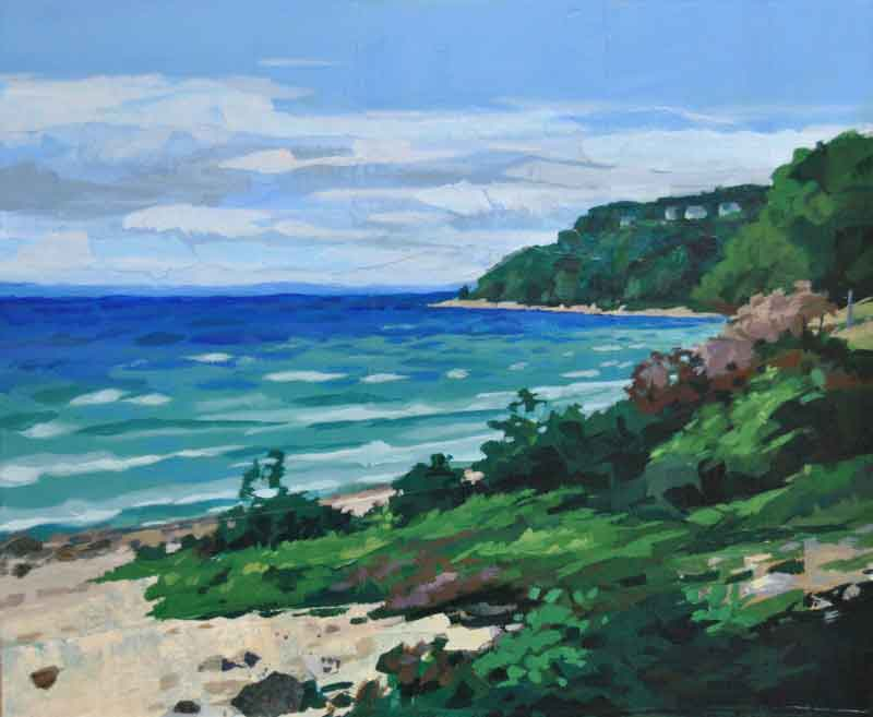 """""""Heading NW on M-185""""- SOLD"""