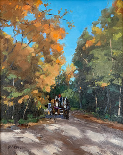 Around the Bend- SOLD
