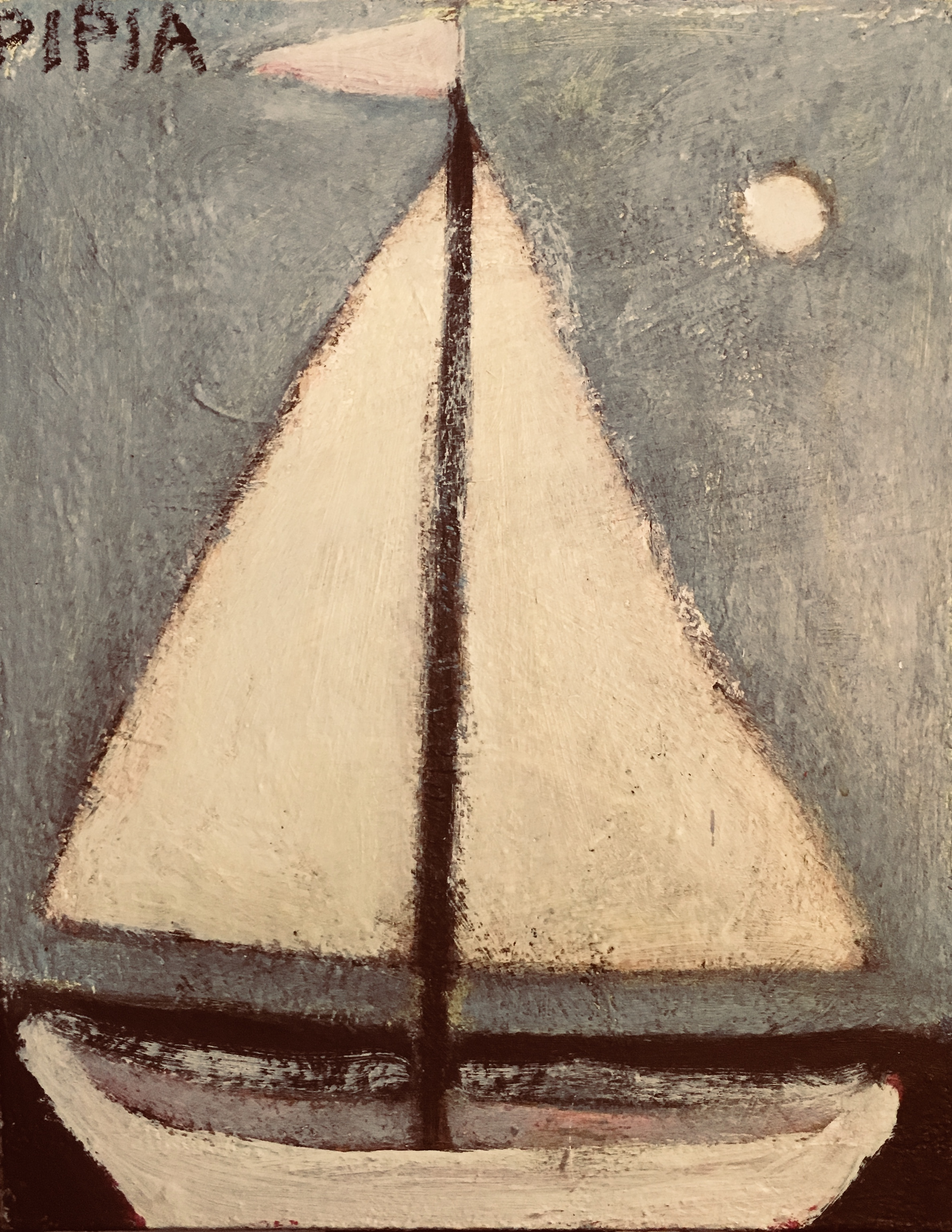 Sailing Away-Sold