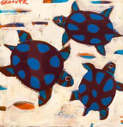 "Collage- ""Three Turtles"""