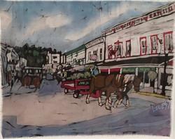 """Stroll Down the Street on Mackinac"""