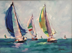 Sailing the Great Lakes- SOLD