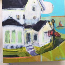 Hotel Iroquois, Lightpost and Lighthouse