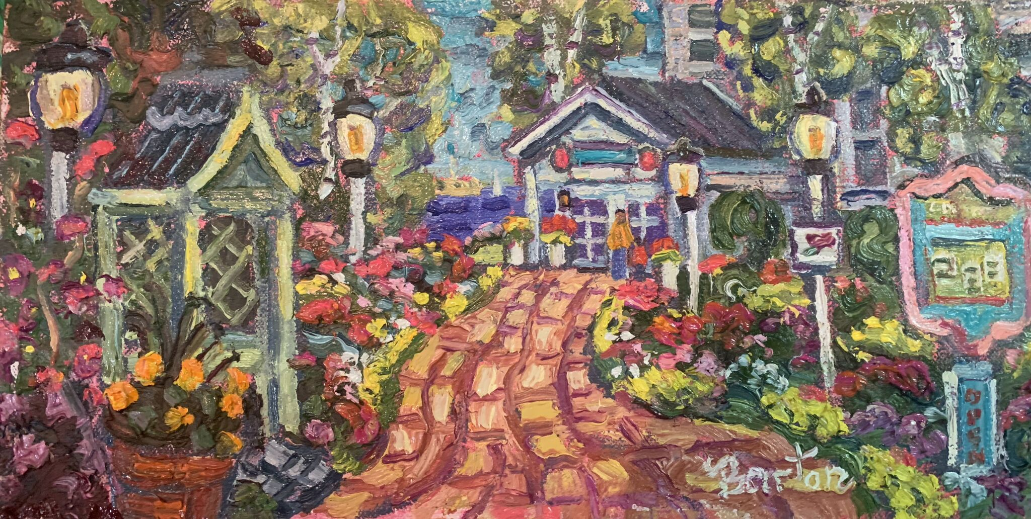 Colors of the Carriage House-SOLD