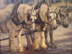 """Oil- """"The Three Amigos"""""""