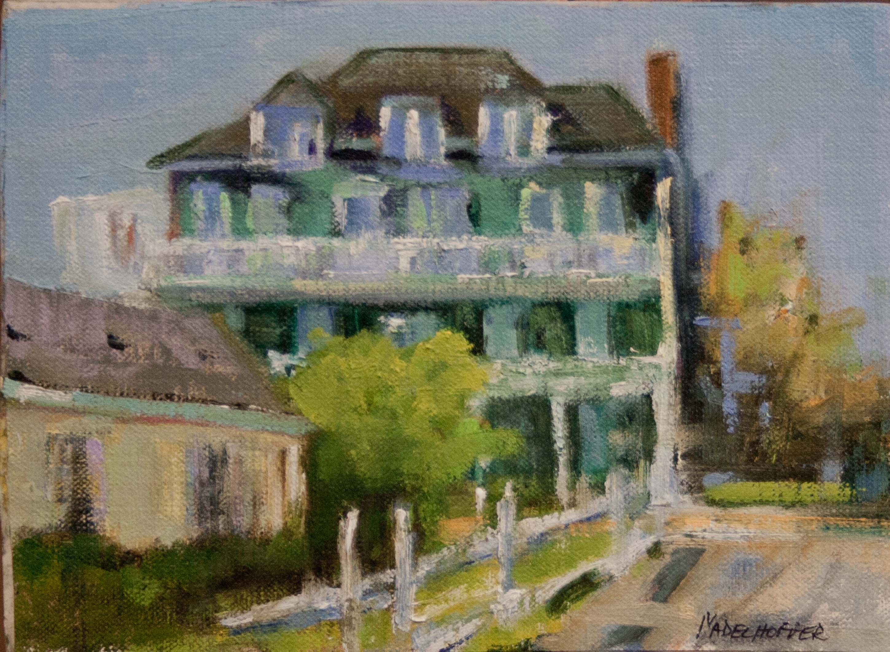 "Oil- ""Windsor Hotel"""
