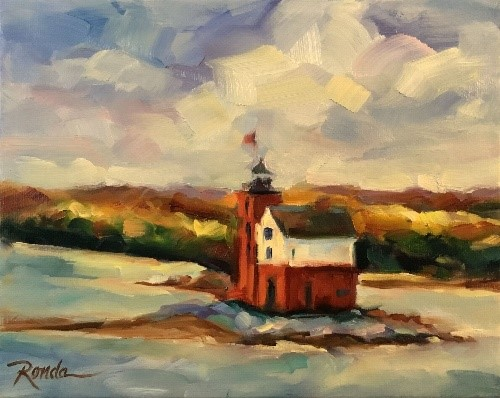 Round Island Light-SOLD