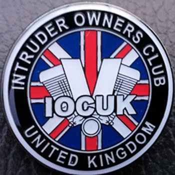 Club logo enamel pin badge
