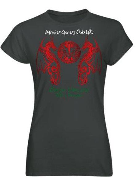 IOCUK 2021 Summer Meet Women's T-shirt on Graphite T-Shirt