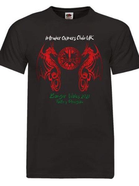 IOCUK 2021 Summer Meet Men's T-shirt on Black T-Shirt