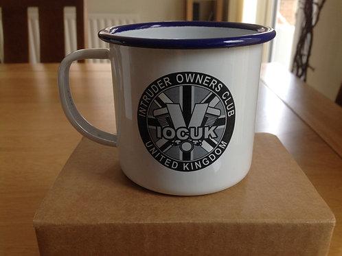 Club Logo Enamel Mug