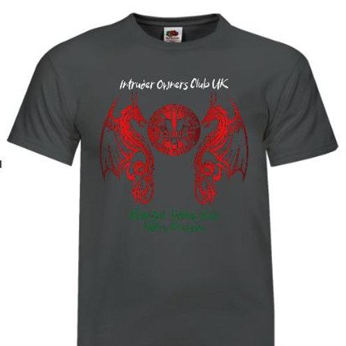 IOCUK 2021 Summer Meet Men's T-shirt on Graphite T-Shirt